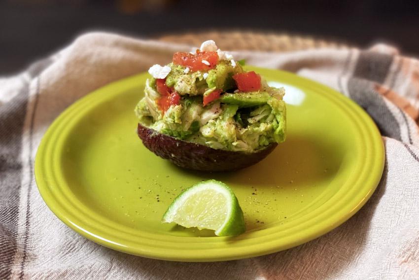 Low Carb Avocado Chicken Salad